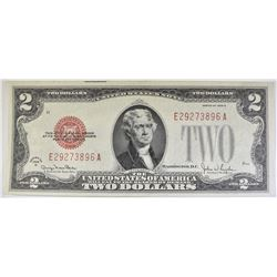 1928 G $2 LEGAL TENDER