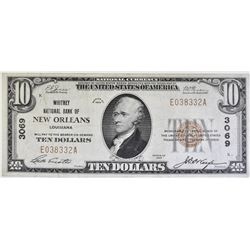 1929 TY 1 $10 NATIONAL CURRENCY