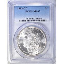 1883-CC MORGAN DOLLAR  PCGS  MS-63