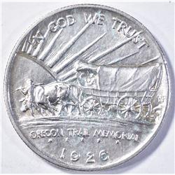 1926-S OREGON TRAIL HALF DOLLAR GEM BU
