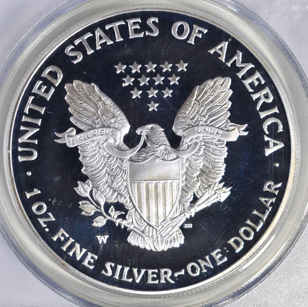 PCGS PR70 DCAM 2006-W American Silver Eagle Proof