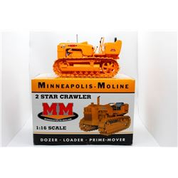 Minneapolis-Moline 2 Star crawler 1:16 Has Box