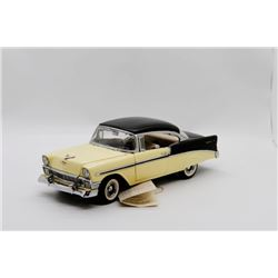Franklin Mint 1956 Chevrolet Bel Air Sport Coupe 1:24 Nox Box