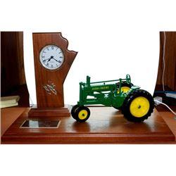 1934 John Deere model A Clock