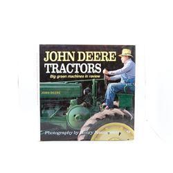 John Deere Tractors Big Green Machines in Review Wooden Model