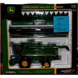 John Deere 9860 STS combine Ertl 1:32 Has Box *New - never been opened*