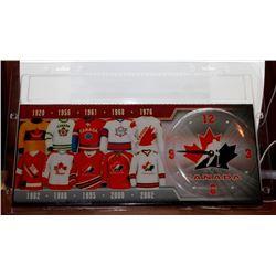Team Canada Clock