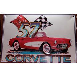 1957 Corvette Sign