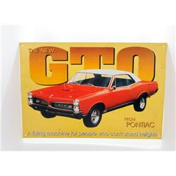 Pontiac GTO Sign
