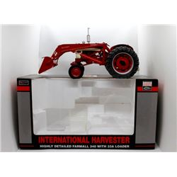 IH Farmall 340 w/ 33A loader Highly Detailed 1:16 Has Box