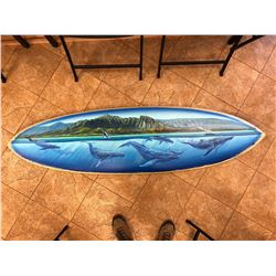 Humpback Whales Surfboard - KAI Show, Patrick Ching 2019