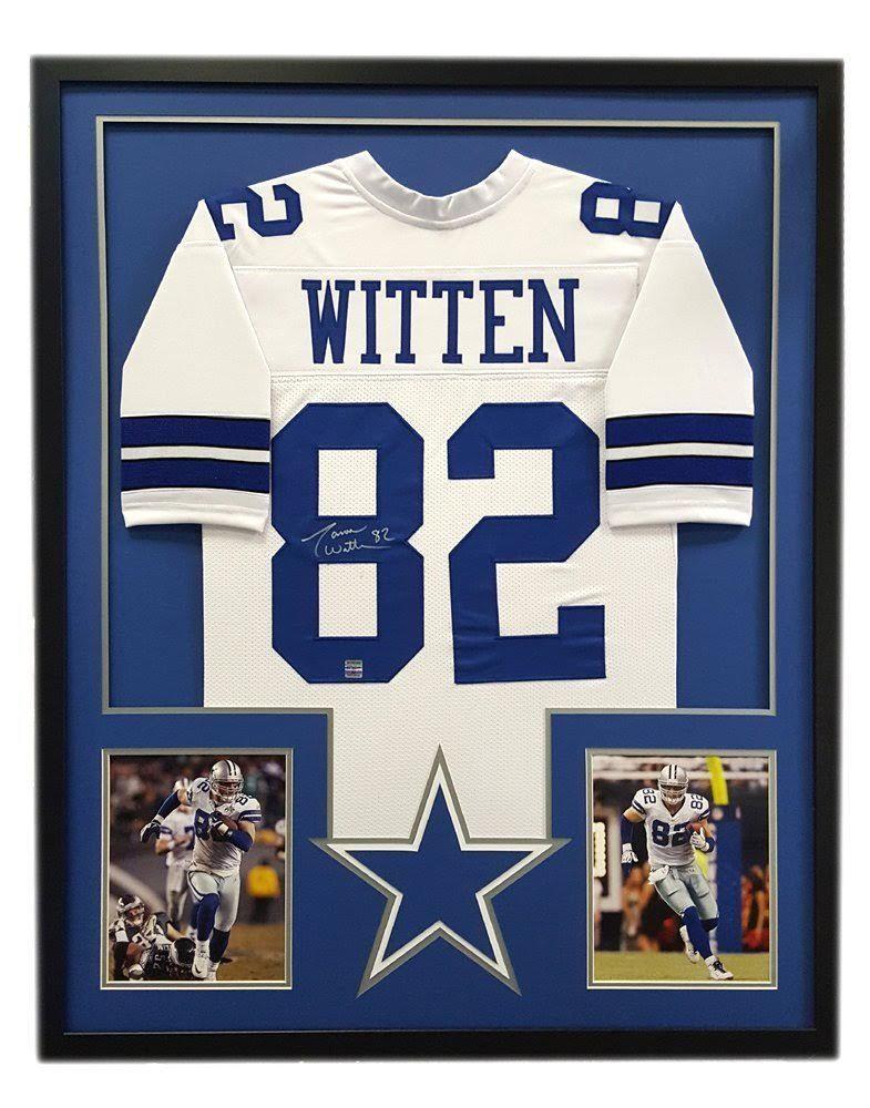 pretty nice 2e7be d867b Jason Witten Signed Cowboys 34x42 Custom Framed Jersey ...