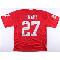0fda21e4233 Irving Fryar Signed Nebraska Cornhuskers Jersey Inscribed