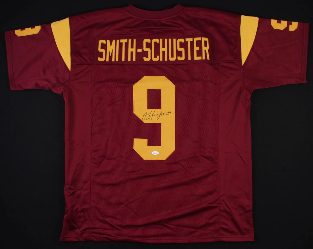 separation shoes af133 9f099 JuJu Smith-Schuster Signed USC Trojans Jersey (JSA COA)