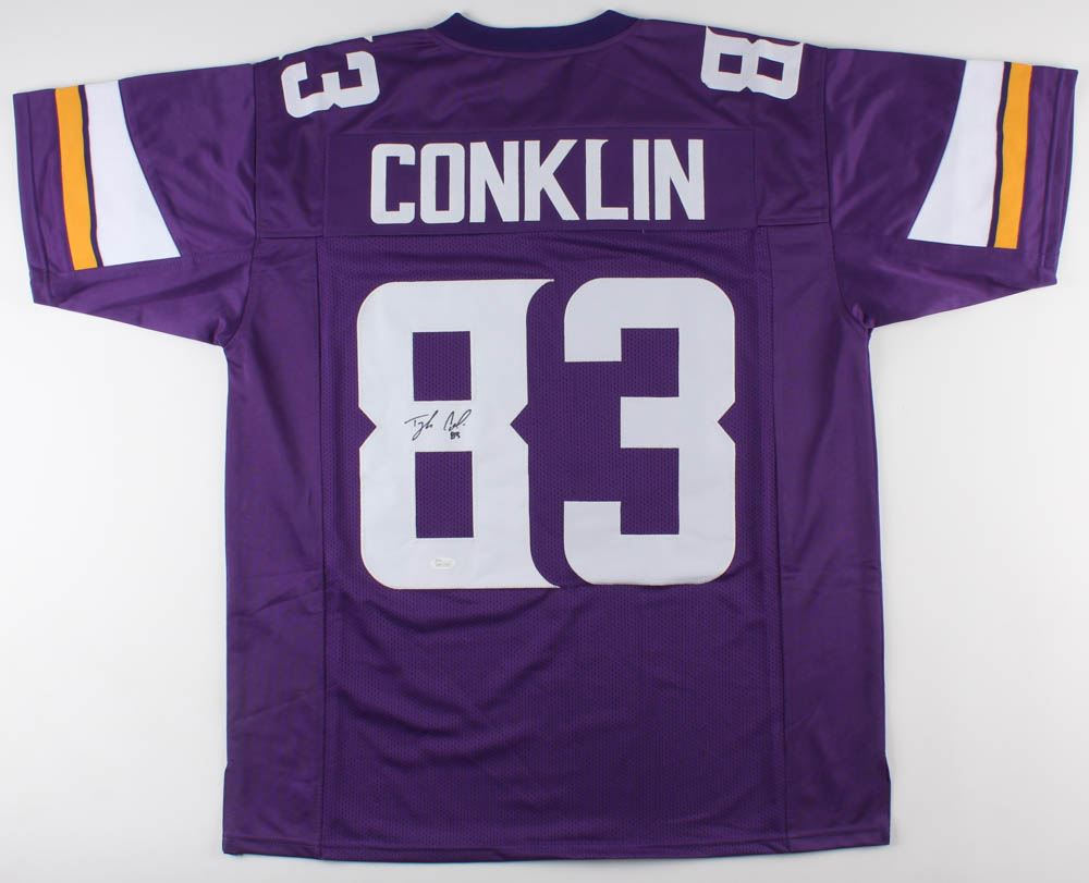 outlet store 641cc d9f13 Tyler Conklin Signed Minnesota Vikings Jersey (JSA COA)