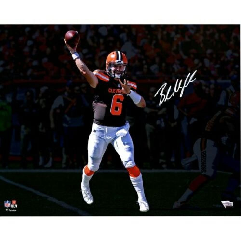 b0fac97a Baker Mayfield Signed Cleveland Browns