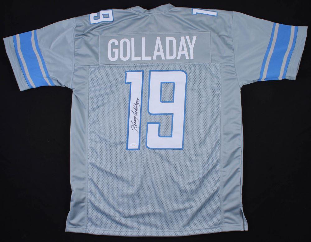 sports shoes 2e867 71123 Kenny Golladay Signed Detroit Lions Jersey (JSA COA)