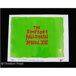 The Simpsons  Original Production Cel