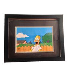 Original Simpsons Painted Cel