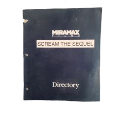 Scream 2 Signed Wes Craven Signed Script