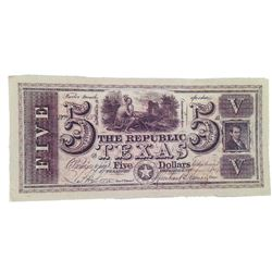 Django Unchained $5 Bank Note Movie Props