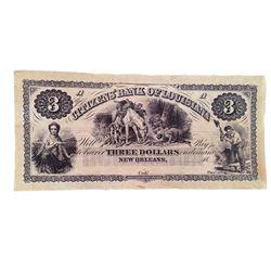 Django Unchained $3 Bank Note Movie Props