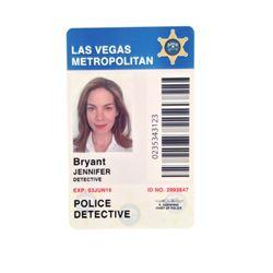 Sleepless Jennifer Bryant (Michelle Monaghan) Detective ID Badge Movie Props