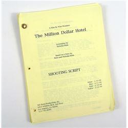 Million Dollar Hotel Original Production Script Of Richard Edson (Joe)