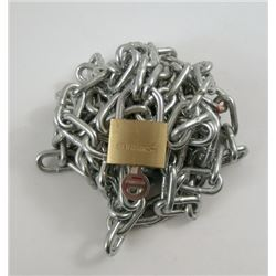 Now You See Me Chain Link and Lock Movie Props