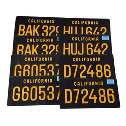 The Age of Adaline License Plates Movie Props