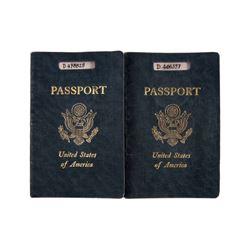 The Sheltering Sky Kit (Debra Winger) Port (John Malkovich) Passport Props