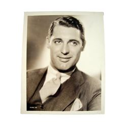Cary Grant 1940's Promotional Photo Movie Collectibles