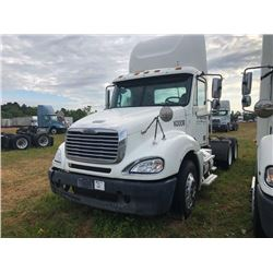 2009 FREIGHTLINER COLUMBIA TRUCK TRACTOR; VIN/SN:1FUJA6CV89DAK0008 T/A, MERCEDES 460 ENGINE, 450 HP,