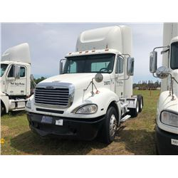2009 FREIGHTLINER TRUCK TRACTOR; VIN/SN:1FUJA6CV39DAD9870 T/A, MERCEDES 460 ENGINE, 450 HP, 10 SPD T