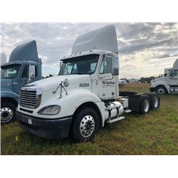 2008 FREIGHTLINER COLUMBIA TRUCK TRACTOR; VIN/SN:1FUJA6CV38DAA5264 T/A, MERCEDES 460 ENGINE, 450 HP,