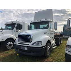 2008 FREIGHTLINER TRUCK TRACTOR; VIN/SN:1FUJA6CV08DAA5268 T/A ,MERCEDES 460 ENGINE, 450 HP, 10 SPD T