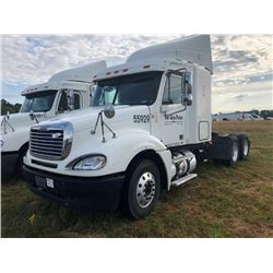 2007 FREIGHTLINER CL120 TRUCK TRACTOR; VIN/SN:1FUJA6CV57LW55929 T/A, SLEEPER, MERCEDES 460 ENGINE, 4