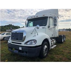 2007 FREIGHTLINER CL120 TRUCK TRACTOR; VIN/SN:1FUJA6CV87LW55911 T/A, SLEEPER, MERCEDES 460 ENGINE, 4
