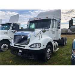 2007 FREIGHTLINER COLUMBIA TRUCK TRACTOR; VIN/SN:1FUJA6CV57LW55932 T/A, SLEEPER, MERCEDES 460 ENGINE