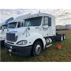 2007 FREIGHTLINER COLUMBIA TRUCK TRACTOR; VIN/SN:1FUJA6CV97LW55920 T/A, SLEEPER, MERCEDES 460 ENGINE