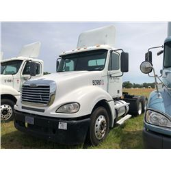 2007 FREIGHTLINER COLUMBIA TRUCK TRACTOR; VIN/SN:1FUJA6CK07LY50987 T/A, DETROIT SERIES 60 ENGINE, 43