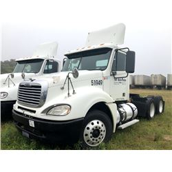 2007 FREIGHTLINER COLUMBIA TRUCK TRACTOR; VIN/SN:1FUJA6CK87LY51949 T/A, DETROIT SERIES 60 ENGINE, 43