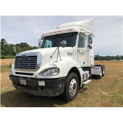 2007 FREIGHTLINER COLUMBIA TRUCK TRACTOR; VIN/SN:1FUJA6CV37LW55928 T/A, SLEEPER, MERCEDES 460 ENGINE