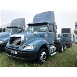 2007 FREIGHTLINER COLUMBIA TRUCK TRACTOR; VIN/SN:1FUJA6CV57PW55888 T/A ,MERCEDES 460 ENGINE, 450 HP,
