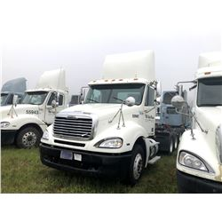 2007 FREIGHTLINER COLUMBIA TRUCK TRACTOR; VIN/SN:1FUJA6CV77LW55947 T/A, MERCEDES 460 ENGINE, 450 HP,
