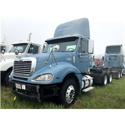 2007 FREIGHTLINER COLUMBIA TRUCK TRACTOR; VIN/SN:1FUJA6CK57LY15751 T/A, DETROIT SERIES 60 ENGINE, 10