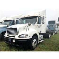 2007 FREIGHTLINER COLUMBIA TRUCK TRACTOR; VIN/SN:1FUJA6CV17LW55913 T/A, SLEEPER, MERCEDES 460 ENGINE