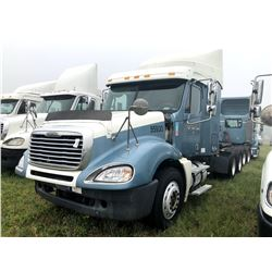 2007 FREIGHTLINER COLUMBIA TRUCK TRACTOR; VIN/SN:1FUJA6CV17LW55930 T/A, SLEEPER, MERCEDES 460 ENGINE