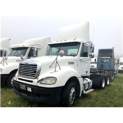 2007 FREIGHTLINER CLUMBIA TRUCK TRACTOR; VIN/SN:1FUJA6CV47PW55980 T/A, MERCEDES 460 ENGINE, 450 HP,