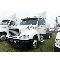2007 FREIGHTLINER COLUMBIA TRUCK TRACTOR; VIN/SN:1FUJA6CV57LW55915 T/A, SLEEPER, MERCEDES 460 ENGINE